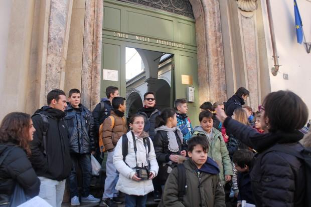 itinerario milano romana al museo archeologico