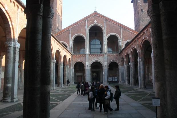 Itineraio MIlano Paleocristiana e S. Ambrogio