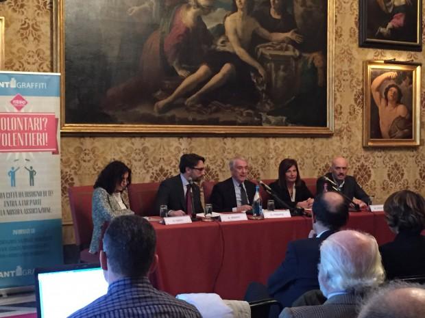 Conferenza stampa Milano Fuoriclasse con il sindaco Pisapia