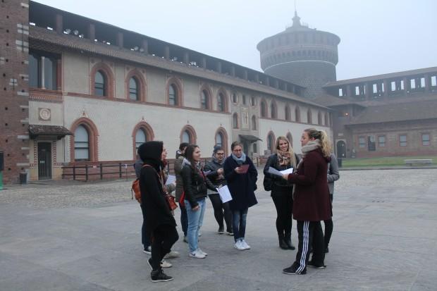 simulazione milano rinascimentale con i tutor di Milano Fuoriclasse
