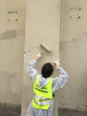 Milano fuoriclasse e la rimozione dei graffiti vandalici